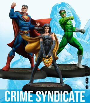 BATMAN MINIATURE GAME: CRIME SYNDICATE (KNIGHT MODELS)