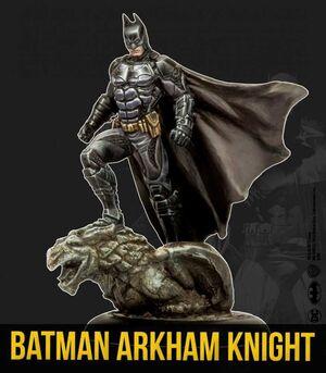 BATMAN MINIATURE GAME: BATMAN ARKHAM KNIGHT (KNIGHT MODELS)