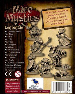 MICE AND MYSTICS PACK DE MINIATURAS