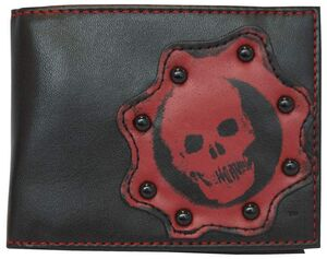 GEARS OF WAR MONEDERO CALAVERA ROJA