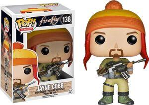 JAYNE COBB FIGURA 10 CM VINYL POP FIREFLY