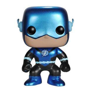 FLASH BLUE LANTERN METALLIC FIGURA 9 CM VINYL POP DC COMICS
