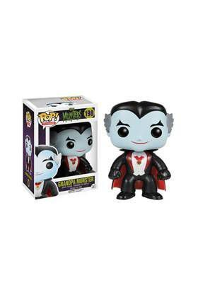 THE MUNSTERS FIGURA 10 CM VINYL POP GRANDPA MUNSTER