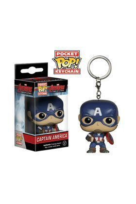 CAPITAN AMERICA LLAVERO FIG 4 CM POCKET POP LOS VENGADORES AGE OF ULTRON