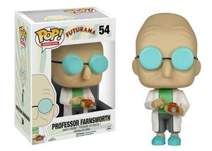FUTURAMA FIGURA 9 CM PROFESSOR FARNSWORTH VINYL POP