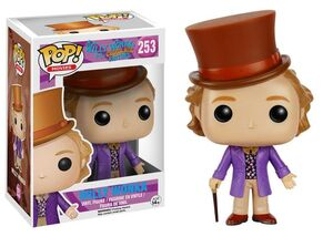 CHARLIE Y LA FABRICA DE CHOCOLATE FIG 10 CM WILLY WONKA VINYL POP