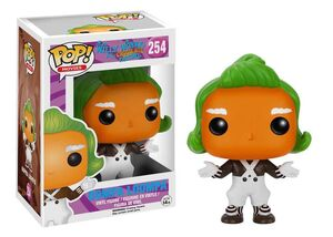 CHARLIE Y LA FABRICA DE CHOCOLATE FIG 10 CM OOMPA LOOMPA VINYL POP