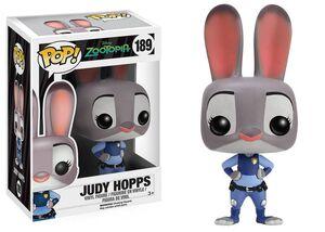 ZOOTROPOLIS FIGURA 8 CM JUDY HOPPS VINYL POP! DISNEY