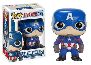 CAPITAN AMERICA CIVIL WAR FIGURA 10 CM CAPITAN AMERICA VINYL POP
