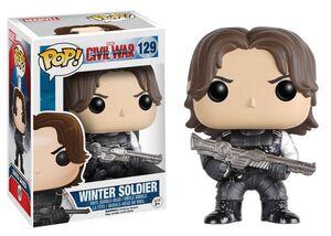 WINTER SOLDIER CABEZON 10 CM MARVEL CIVIL WAR VINYL POP!