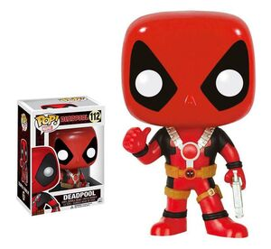 DEADPOOL THUMB UP CABEZON 10 CM MARVEL COMICS VINYL POP!