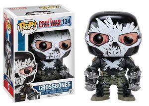 CROSSBONES CABEZON 10 CM MARVEL CIVIL WAR VINYL POP!
