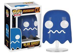 PAC-MAN FIGURA 8 CM BLUE GHOST VINYL POP
