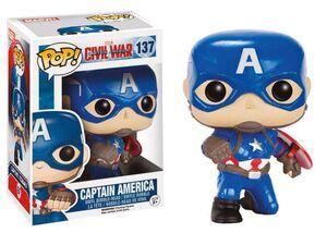 CAPITAN AMERICA CIVIL WAR FIG 9 CM CAPITAN AMERICA ACTION POSE VINYL POP
