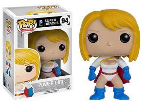POWER GIRL FIGURA 10 CM VINYL POP MARVEL COMICS