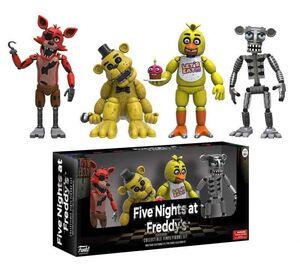 FIVE NIGHTS AT FREDDY'S PACK DE 4 FIG 5CM SET 1