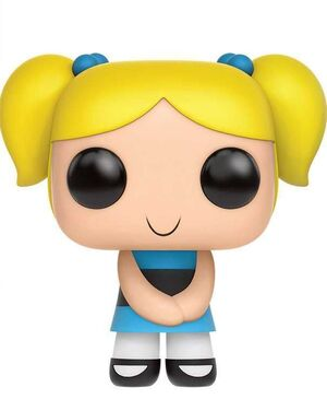 LAS SUPERNENAS FIGURA 9CM BUBBLES VINYL POP