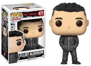 MR ROBOT FIGURA 9 CM ELLIOT ALDERSON VINYL POP CLASSIC VERSION