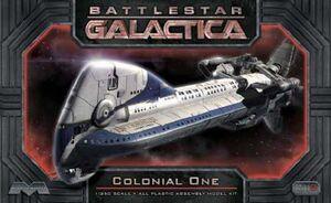 BATTLESTAR GALACTICA MAQUETA COLONIAL ONE