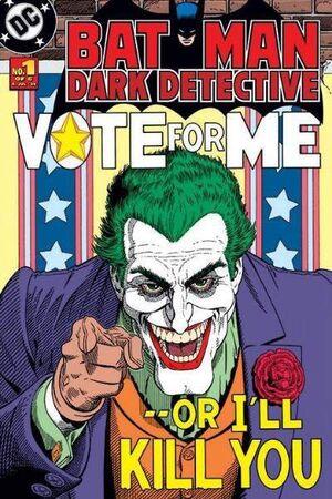 BATMAN POSTER JOKER VOTE FOR ME 61X91CM