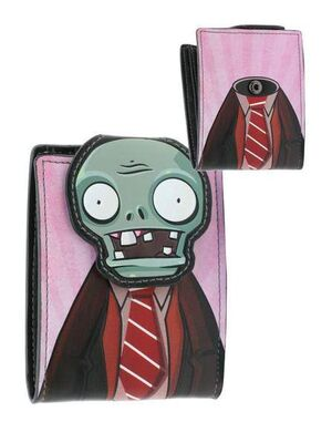 PLANTS VS ZOMBIES CARTERA HEAD SNAP