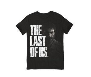 THE LAST OF US CAMISETA TEXT LOGO T-M