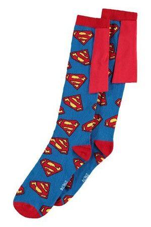 DC COMICS CALCETINES TALLA 39 - 42 SUPERMAN LOGOS