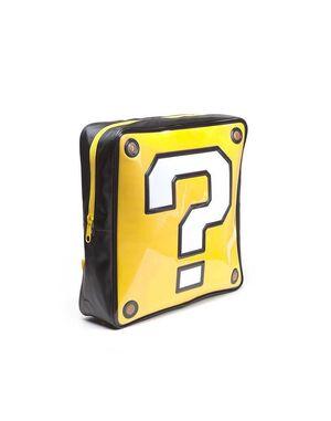 NINTENDO MOCHILA QUESTION MARK BOX SHAPED