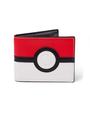 POKEMON MONEDERO BIFOLD POKEBALL
