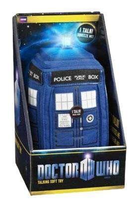 DOCTOR WHO TARDIS PELUCHE CON LUZ Y SONIDO 22 CM
