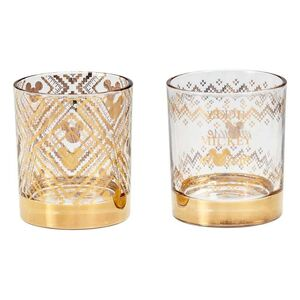 MICKEY MOUSE PACK 2 VASOS TUMBLER GOLD MICKEY