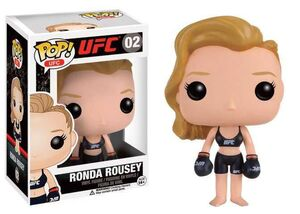 UFC POP VINYL FIG 9CM RONDA ROUSEY