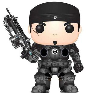GEARS OF WAR FIGURA 9 CM MARCUS FENIX VINYL POP