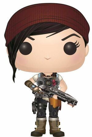 GEARS OF WAR FIGURA 9 CM KAIT DIAZ VINYL POP