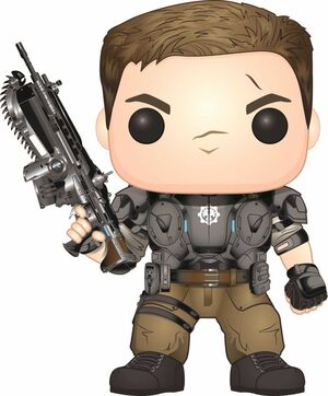 GEARS OF WAR FIGURA 9 CM JD FENIX VINYL POP