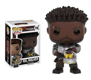 GEARS OF WAR FIGURA 9 CM DEL WALKER VINYL POP
