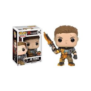 GEARS OF WAR FIGURA 9 CM JD FENIX SLIMED VINYL POP