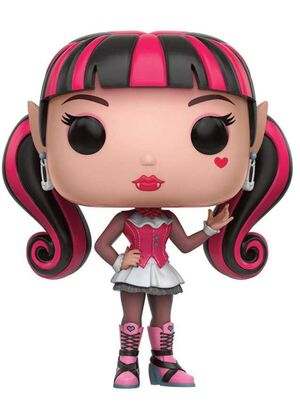 MONSTER HIGH FIGURA 9 CM DRACULAURA VINYL POP