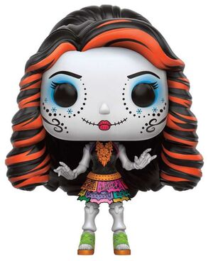 MONSTER HIGH FIGURA 9 CM SKELITA CALAVERAS VINYL POP