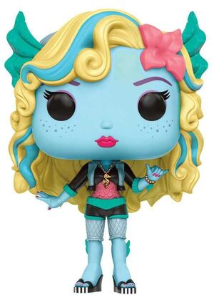 MONSTER HIGH FIGURA 9 CM LAGOONA BLUE VINYL POP