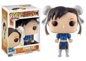 STREET FIGHTER FIGURA 10 CM CHUN-LI VINYL POP