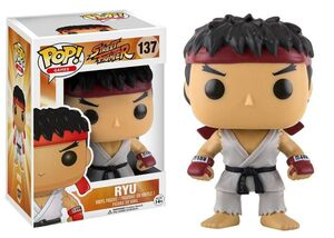 STREET FIGHTER FIGURA 10 CM RYU VINYL POP
