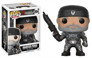 GEARS OF WAR FIGURA 9 CM MARCUS FENIX (OLD MAN) VINYL POP
