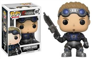 GEARS OF WAR POP VINYL FIG 9CM DAMON BAIRD