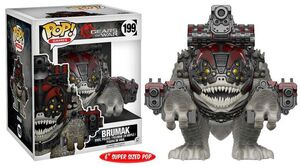 GEARS OF WAR FIGURA 15 CM BRUMAK VINYL POP