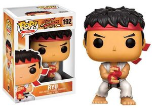 STREET FIGHTER FIGURA 9 CM RYU (SPECIAL ATTACK) VINYL POP