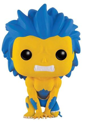 STREET FIGHTER FIGURA 9 CM BLANKA YELLOW VINYL POP