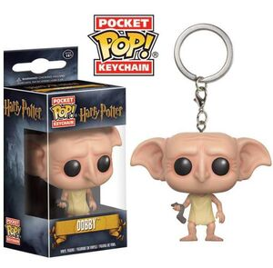 HARRY POTTER LLAVERO 4 CM DOBBY POCKET POP