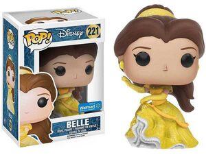 LA BELLA Y LA BESTIA FIGURA 9 CM BELLE (SPARKLE BALLGOWN) VINYL POP - 221