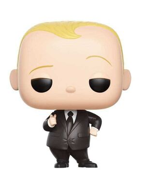 THE BOSS BABY FIGURA 9 CM BOSS BABY IN SUIT VINYL POP